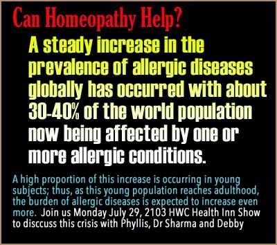 Faith In Homeopathy and Allergy Remedies - Homeopathy World