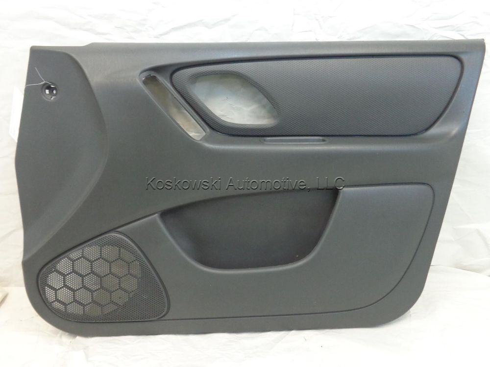 Ford Escape Door Interior Trim Panel Right Passenger Side Front 03 04 Dark Flint Interior Trim Retro Interior Interior
