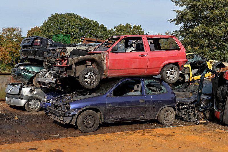At WreckMonster, We buy scrap cars and pay up to 15'000