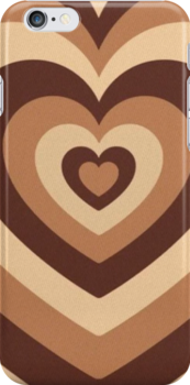 Wildflower Latte Hearts Snap Case For Iphone 6 & Iphone 6s by emmyhensley