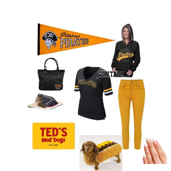 Andrea's Pittsburgh Pirates outfit wins the Most Liked prize in ...