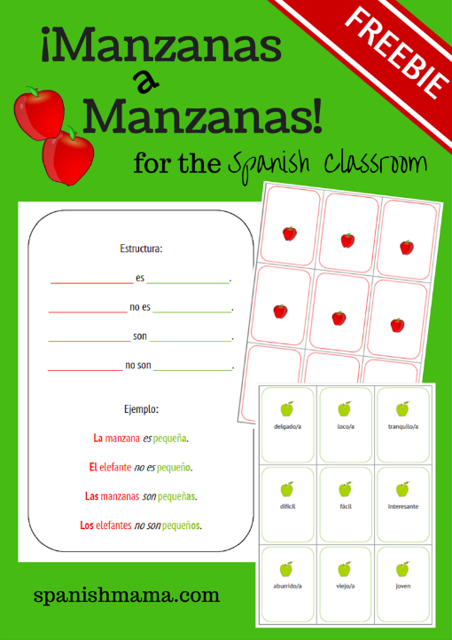 Apples to Apples // Manzanas a Manzanas | Language, My website and ...