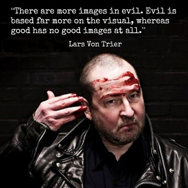 Film Director Quote Lars Von Trier Movie Director Quote