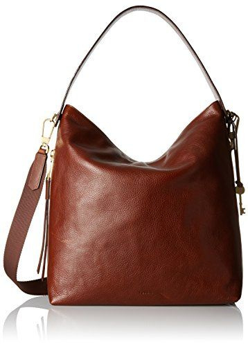 Fossil Maya Large Hobo Brown
