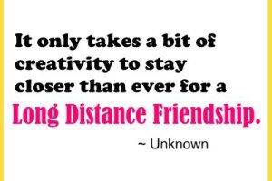 BMABH.COM. Long Distance Friendship QuotesClipboardDaily ...