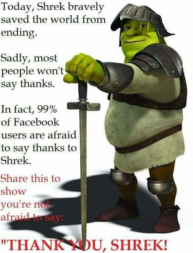 Pin By Nevaeh Murphy On My Life Shrek Shrek Memes Memes