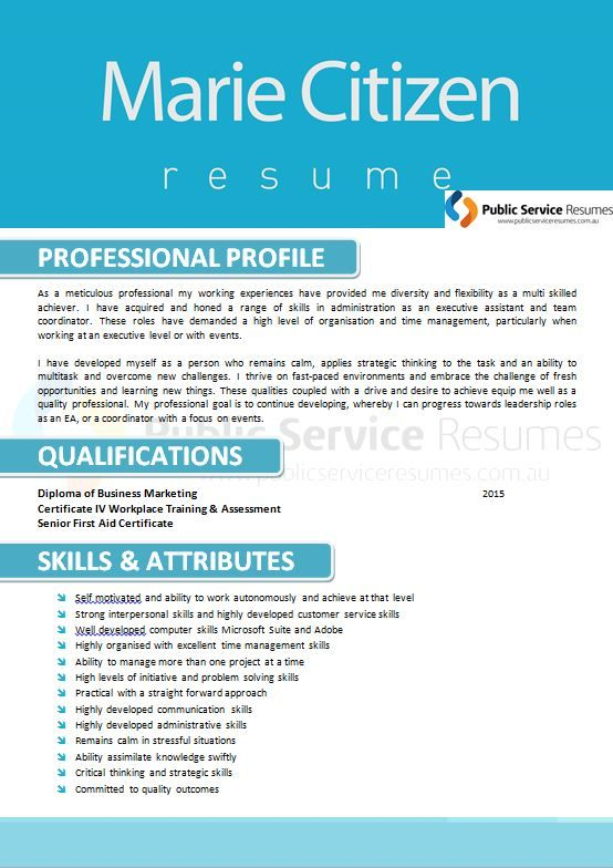 An important aspect of a resume is that it be tailored to the role ...