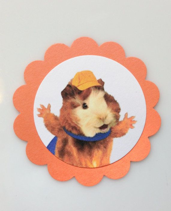 Wonder Pets Linny Tuck Mingming Gift Tags Cupcake By Pnwpaper Gift Tags Pets