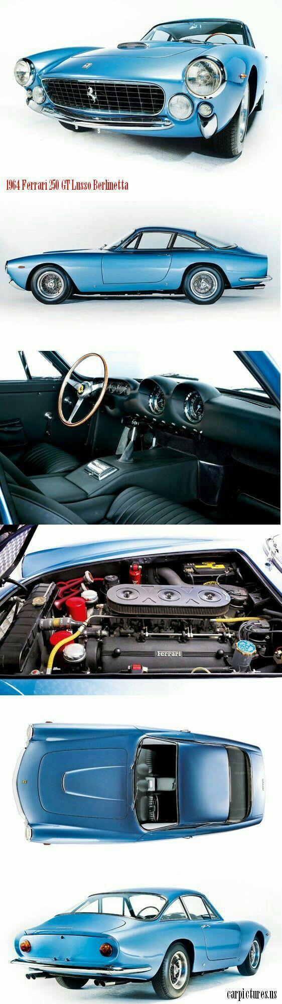 1964 Ferrari 250 GTO lusso Auta, Veteráni, Stáří