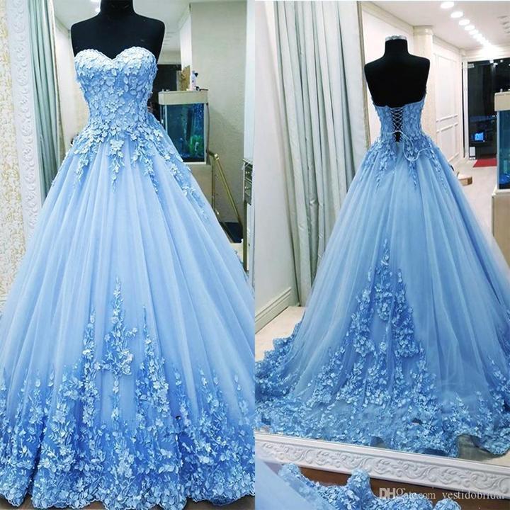 Puffy prom dresses, Quinceanera dresses