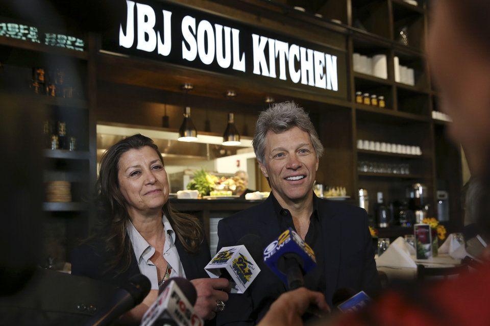 Jon Bon Jovi surprised life-long fan Carol Cesario while she ate ...