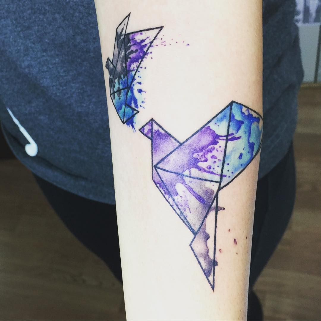watercolortattoo inked ink tatted