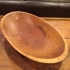 Awesome Wooden Dough Bowl Trencher