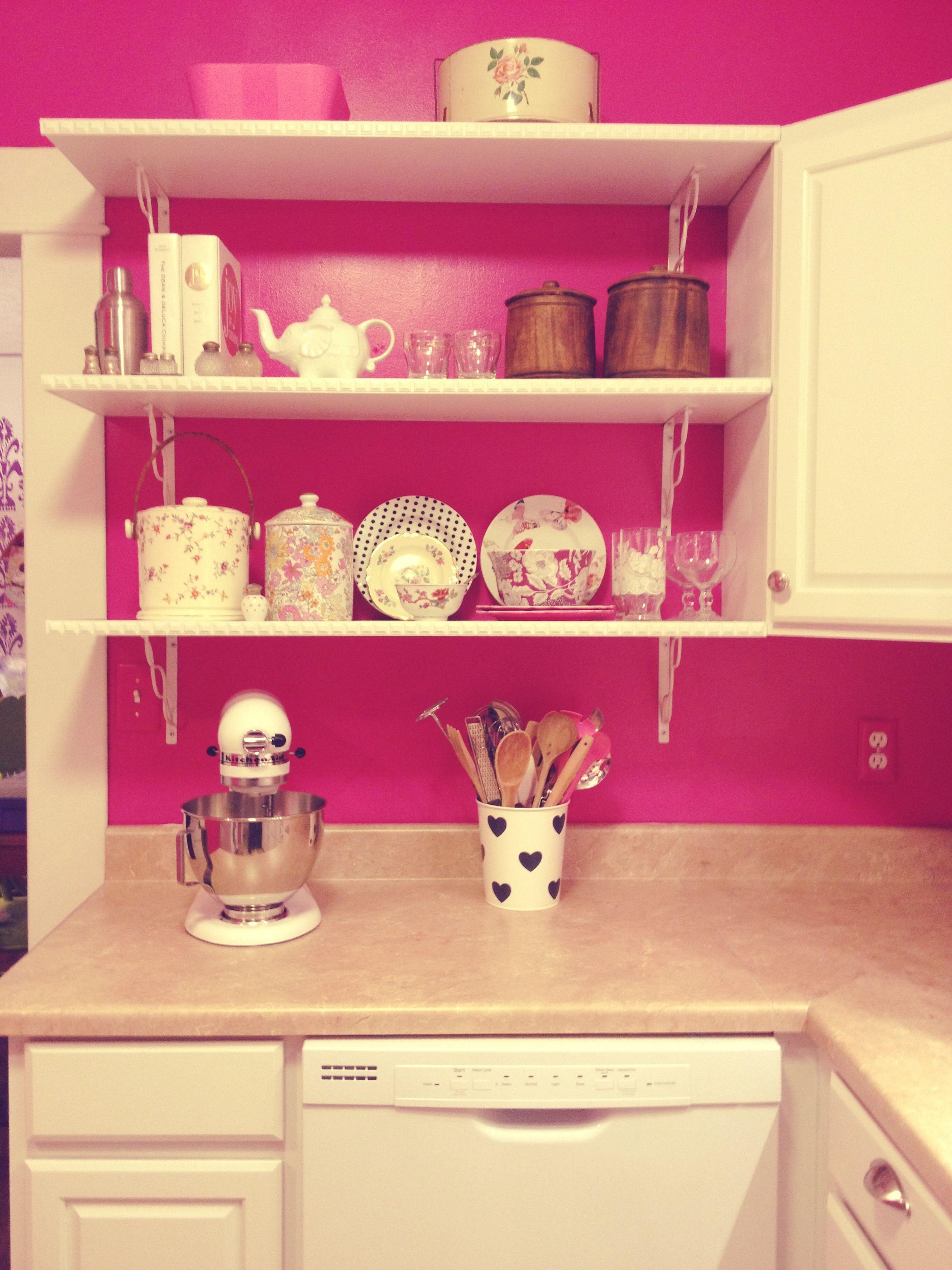My Hot Pink Kitchen