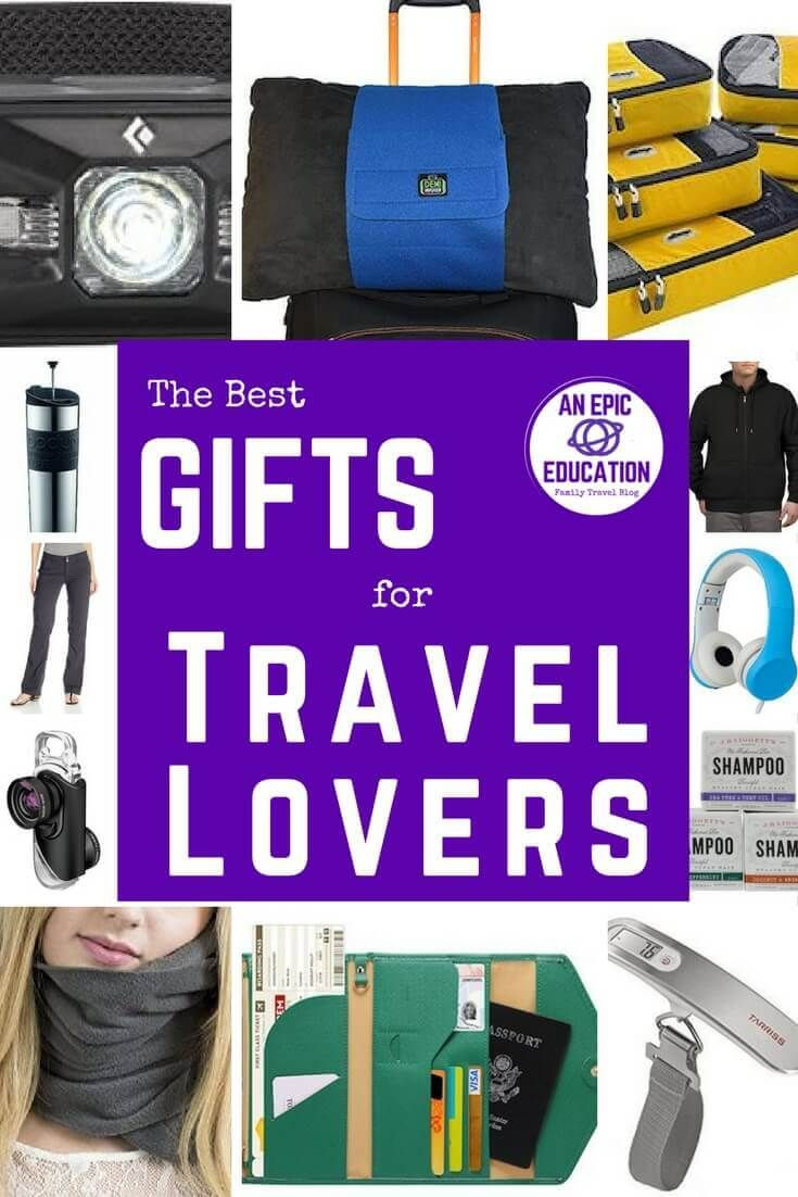 Best Gifts for Travel Lovers  Ultimate List of the Best Travel Gifts is part of The Best Gift Ideas For Travelers Travel Leisure - Behold the best gifts for travel lovers! Our list of travel gift ideas includes travel gifts for women, men, business travelers, backpackers & new parents