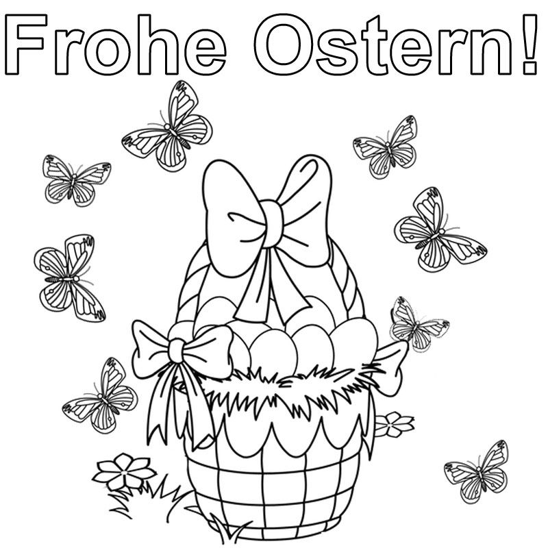 OSTERN BILDER ZUM AUSMALEN – Ausmalbilder für kinder Mehr | Ostern ...