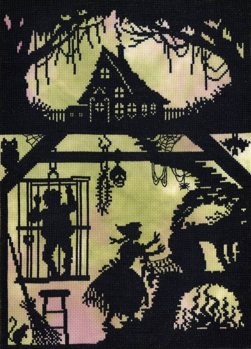 Bothy Threads Cross Stitch Kit Pumpkin House