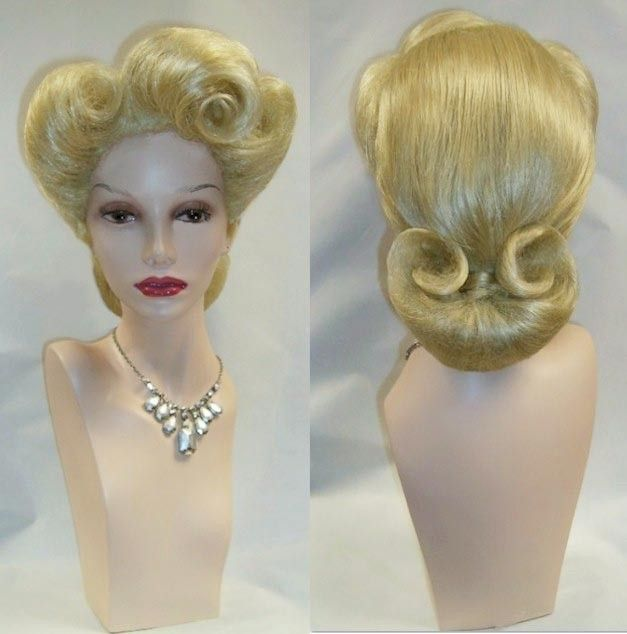 1940's wigs double click above