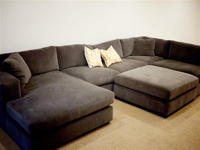 Sofa With Chaise Lounge Sectional Comfortable Couch Sectional