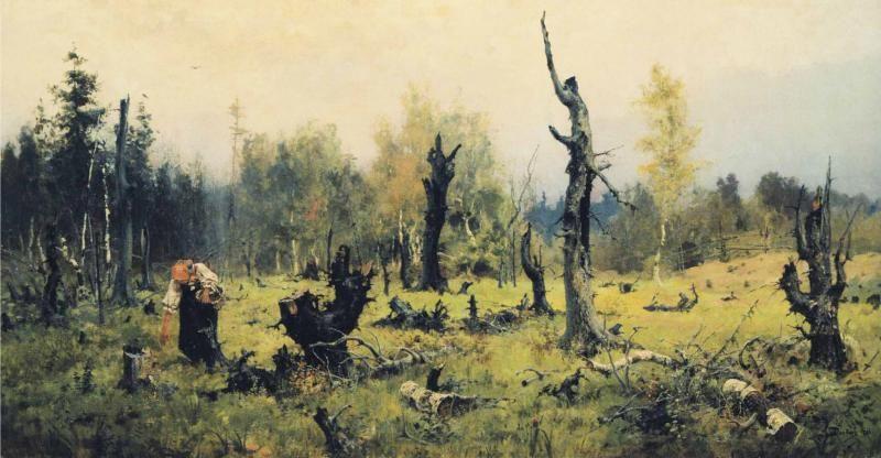 Vasily Dmitrievich Polenov   The Burnt Forest