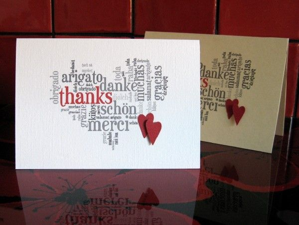 How to make a word art card on Tagxedo Cardmaking Pinterest - how to make a thank you card in word