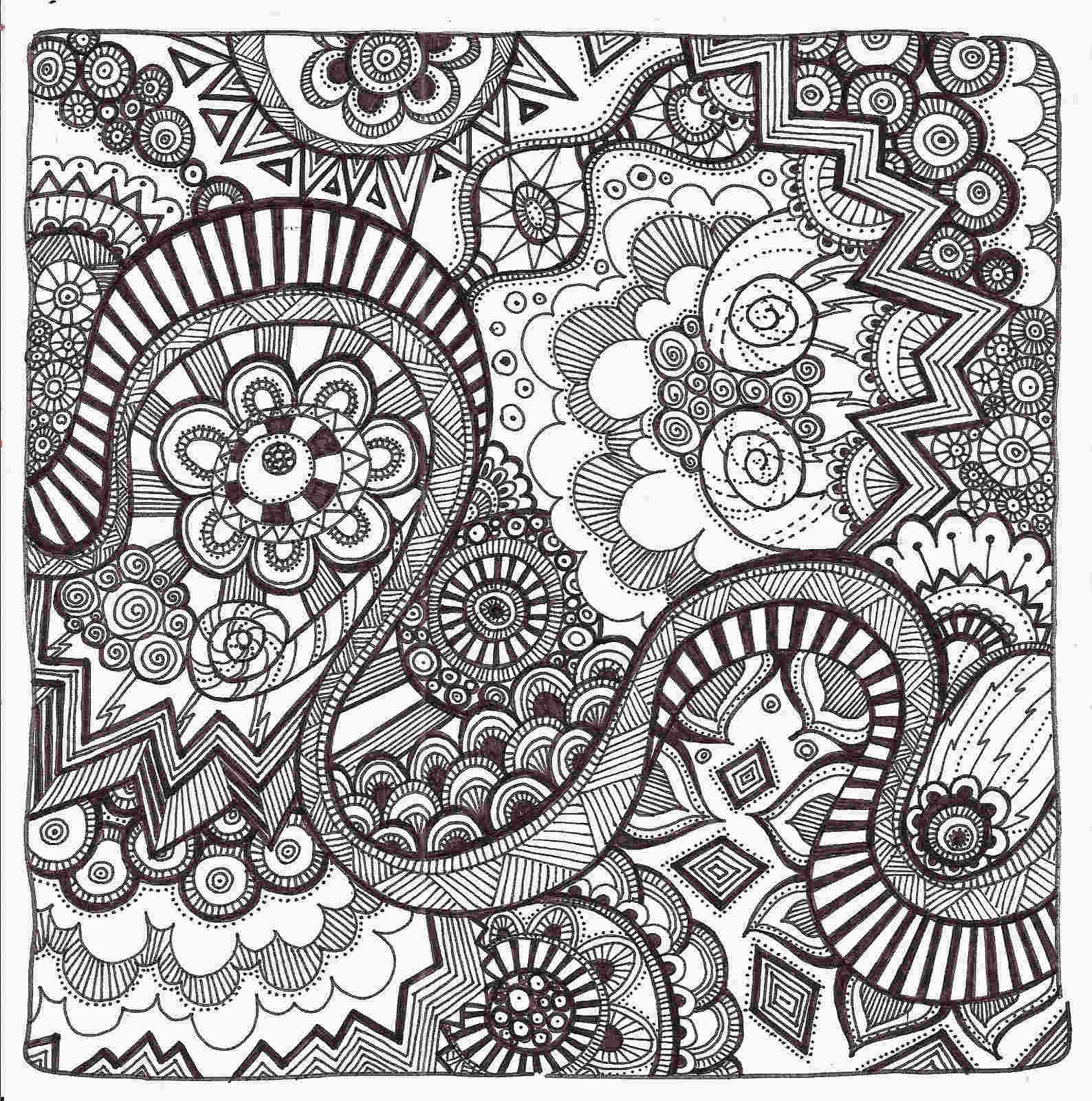 free coloring pages zentangle #halloweencoloringpages
