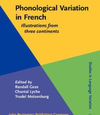 Phonological variation in french illustrations from three phonological variation in french illustrations from three continents pdf fandeluxe Choice Image