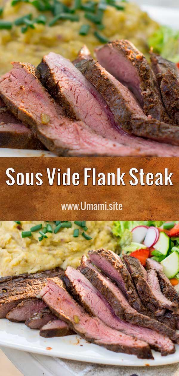 Sous Vide Flank Steak #beefsteakrecipe