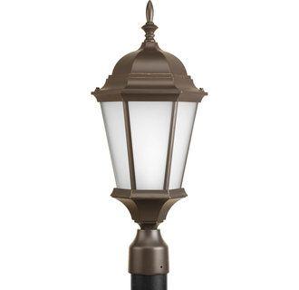 Progress Lighting P5482 20 Antique Bronze Welbourne Single Light Post Light Lightingdirect Com In 2021 Post Lights Lamp Post Lights Progress Lighting
