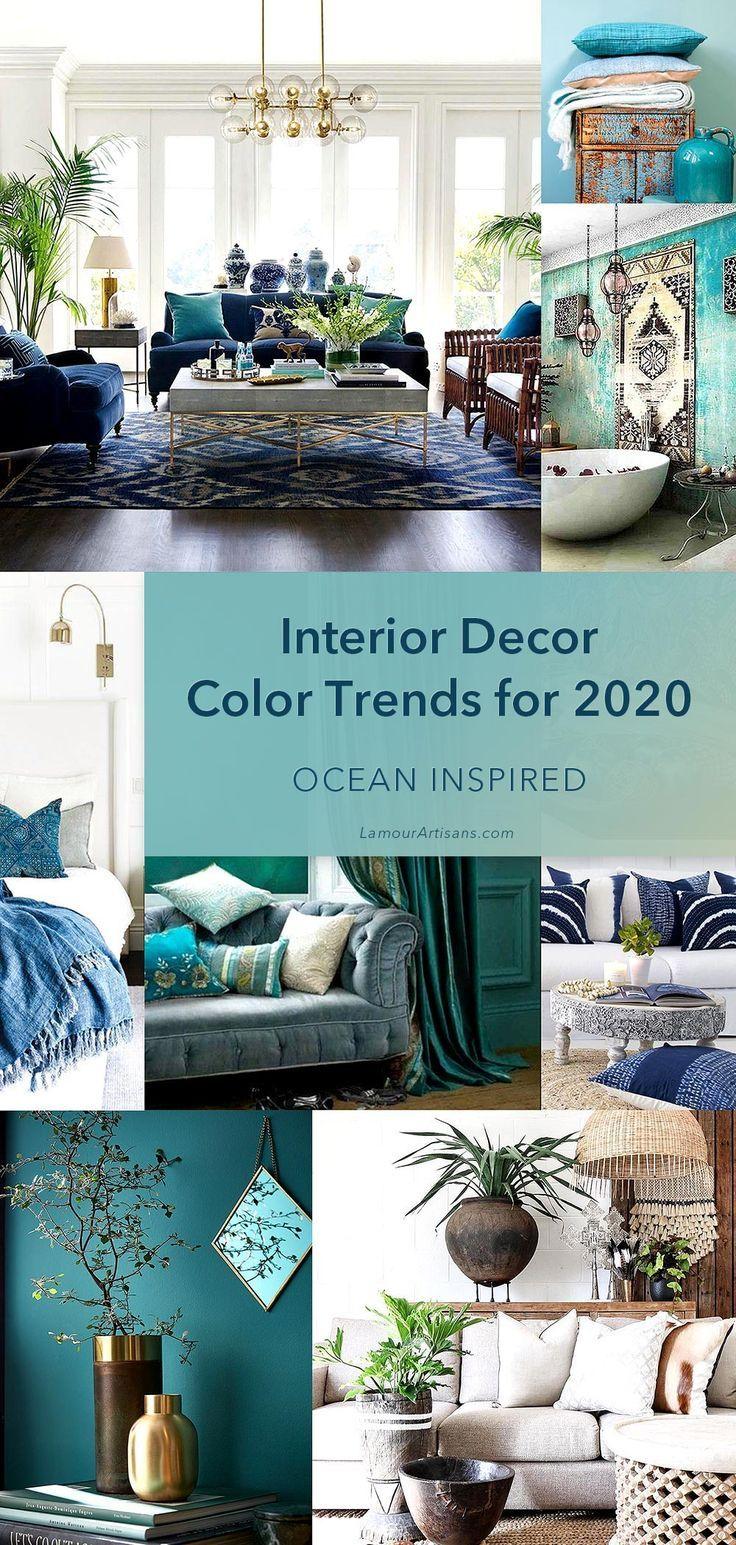 Photo of Interior Decor Color Trends For 2020  –  #color #Decor #Interior #trends
