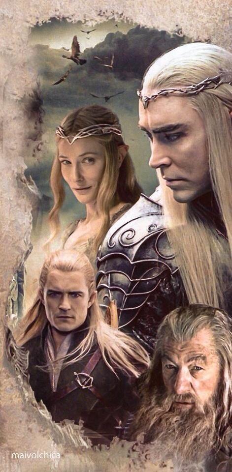Hobbit BOFA - Elves, the Eagles and Gandalf the Grey :)