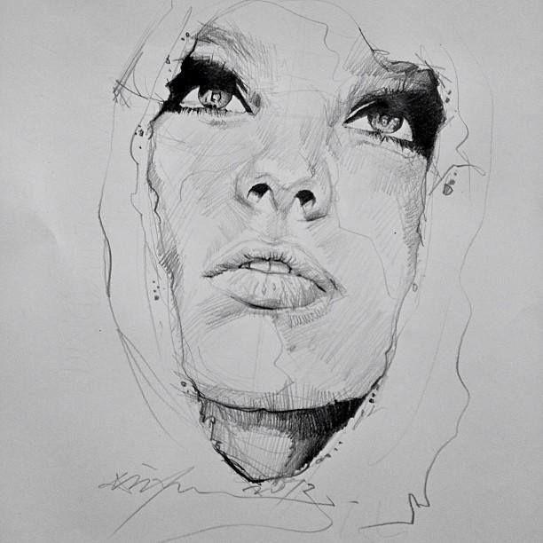 Pencil drawings from malaysian artist alvin chong illustration