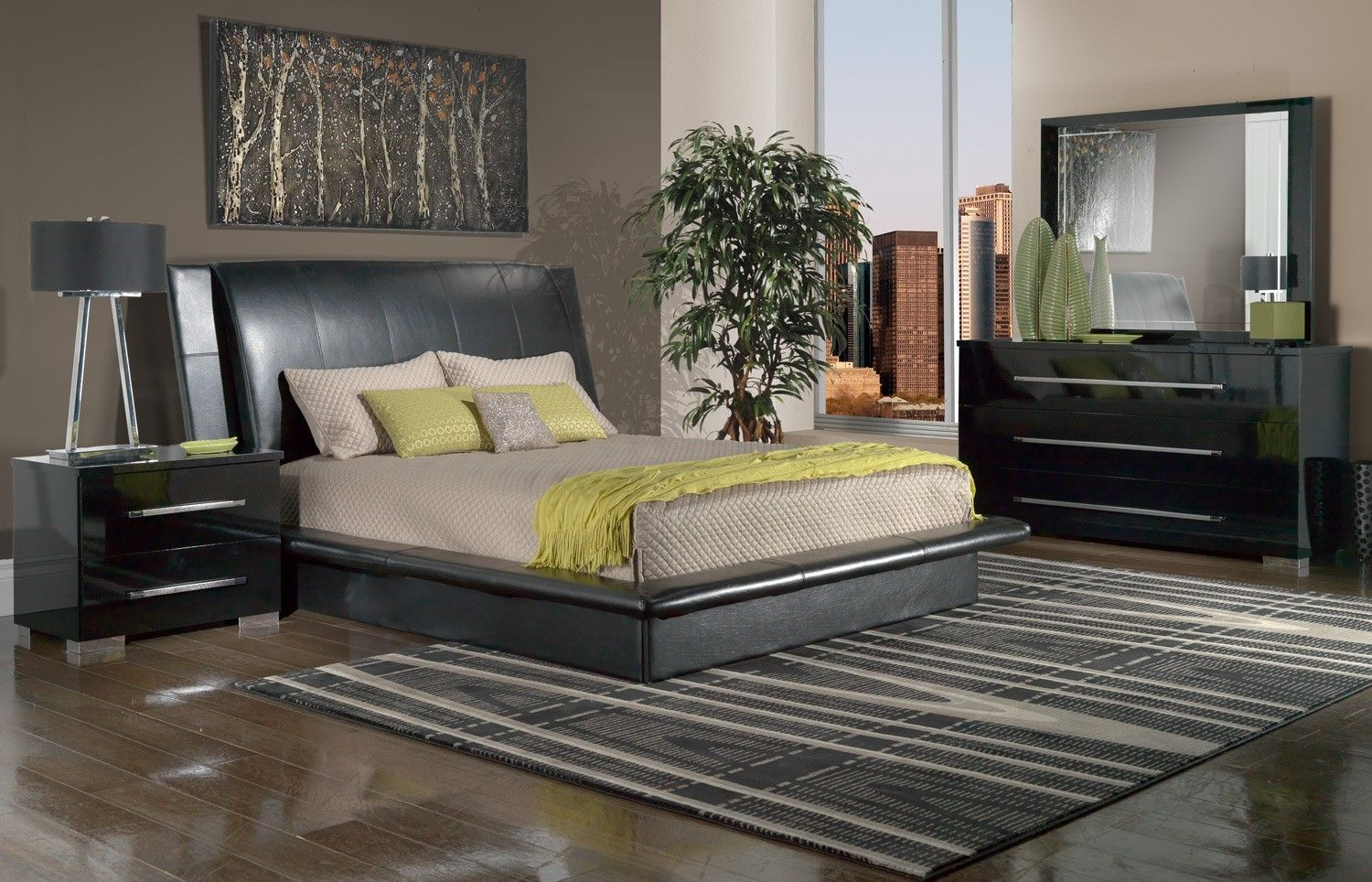 Dimora Bedroom 5 Pc Queen Bedroom Set Leon S