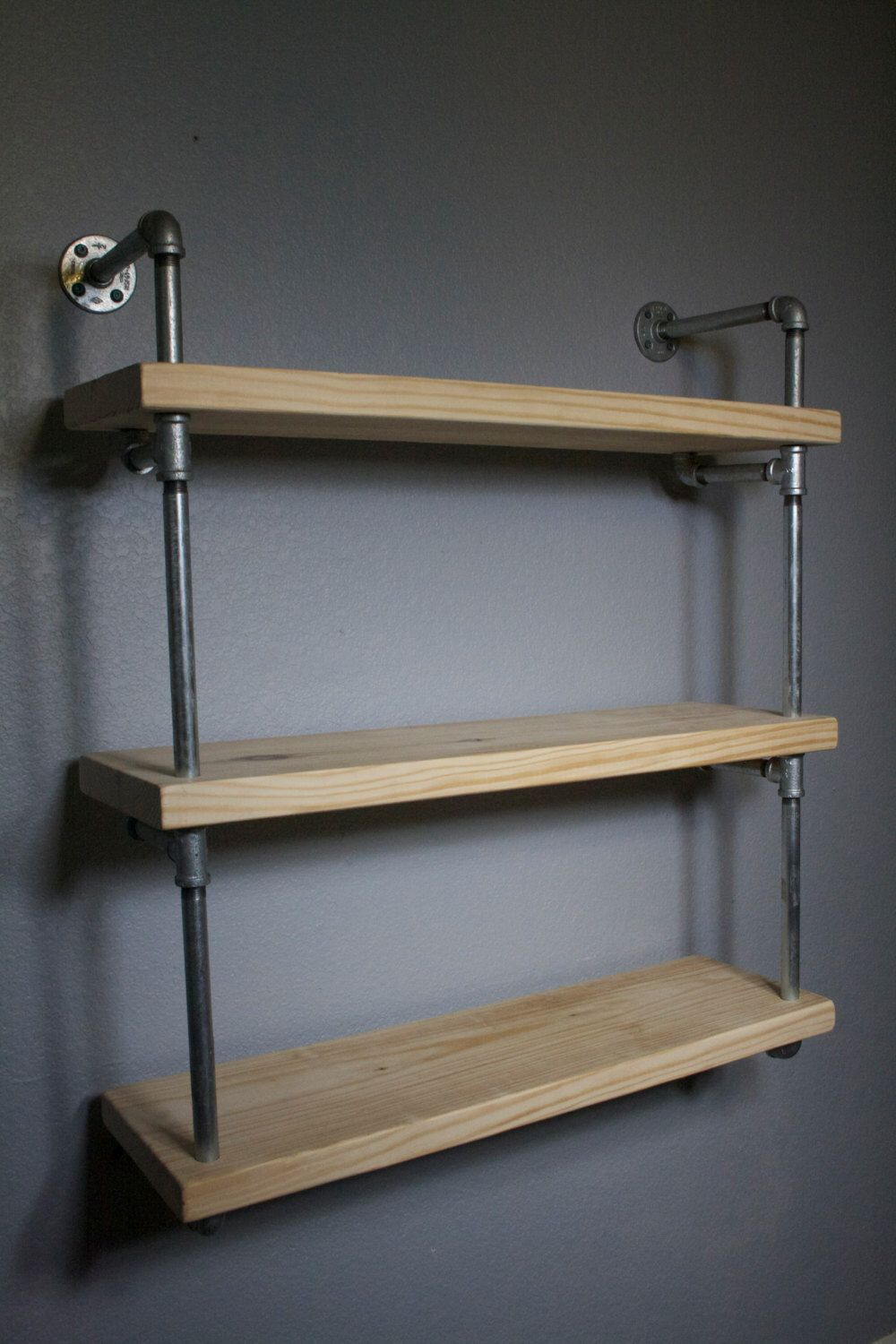 pin by industrial envy on product envy pinterest Wood Shelving Ideas Wall Mounted Shelves