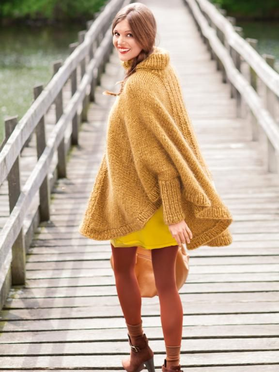 Photo of Strickanleitung: Poncho