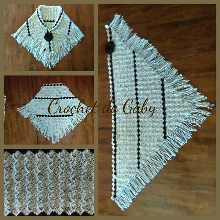 Afgan Stitch crochet Shawl Chal a crochet en punto afgano https://www.facebook.com/crochetdegaby/photos/a.503908636452713.1073741837.398786190298292/507460922764151/?type=3&theater