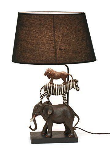 Bada bing hochwertige tischlampe safari lampe dekolampe s for Hochwertige lampen