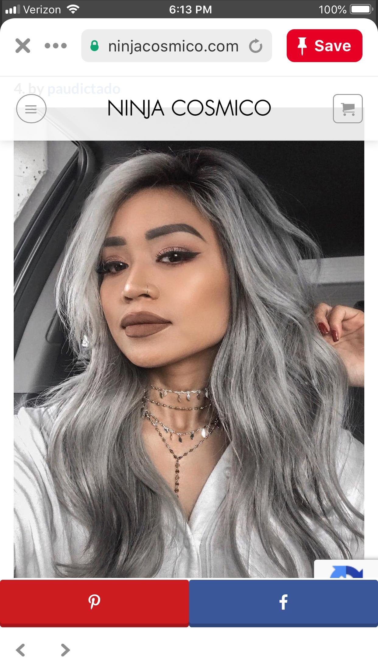 Épinglé par Mode coiffure sur Coiffure Gris en 2020