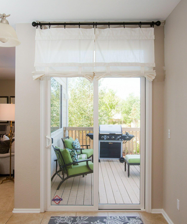 Off White Sliding Glass Door Curtain Shade Pricing Is For 1 Glass Door Curtains Sliding Glass Door Curtains Glass Door Coverings