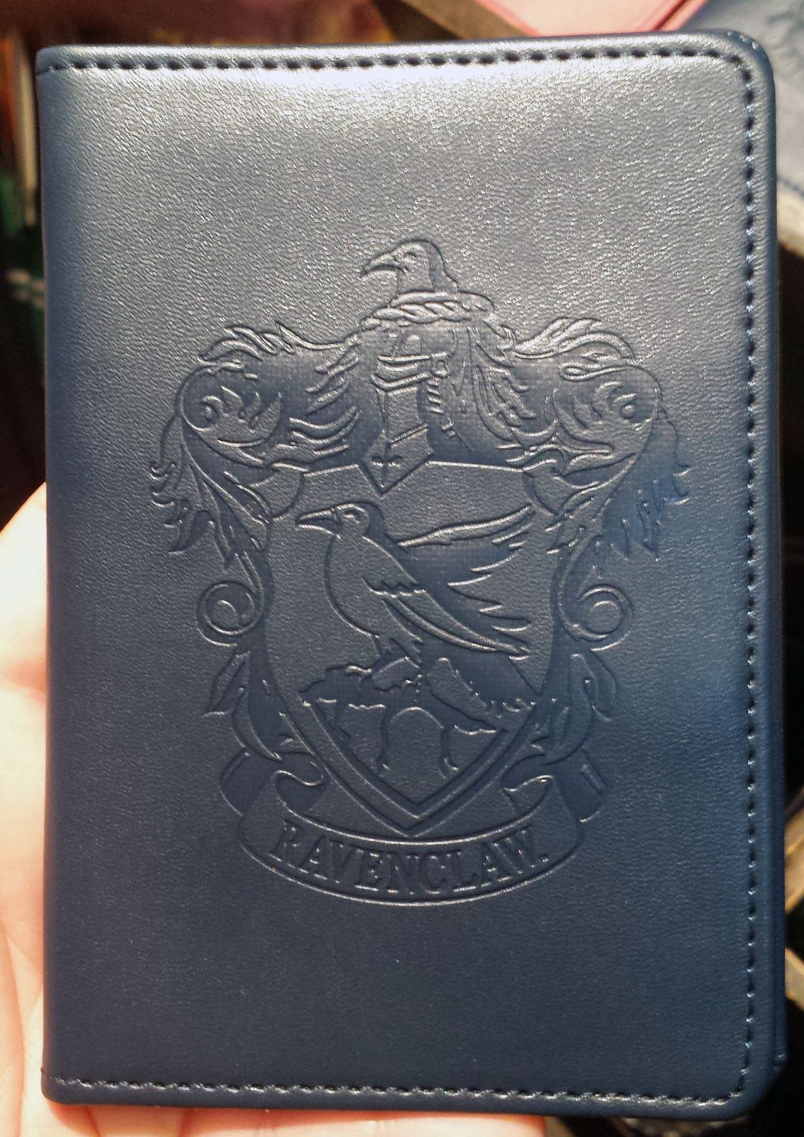0023aabd5655 Wizarding World Harry Potter Passport Wallet House Crest Ravenclaw NEW - Harry  Potter