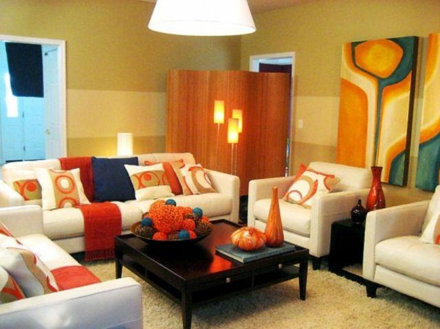 retro wohnideen modernes wohnzimmer mit retro akzente, retro wohnideen- modernes wohnzimmer mit retro akzente | wohnzimmer, Design ideen
