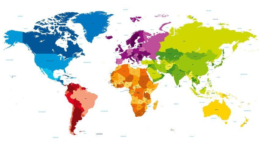 9 Beautiful Desktop Backgrounds Designed To Make You Smarter World Map Wallpaper Map Wallpaper World Wallpaper