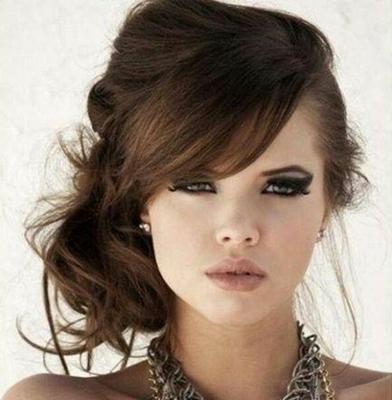 36 Ideas En Peinados Para Novias E Invitadas Encuentra El Tuyo In - Peinado-suelto-con-trenzas