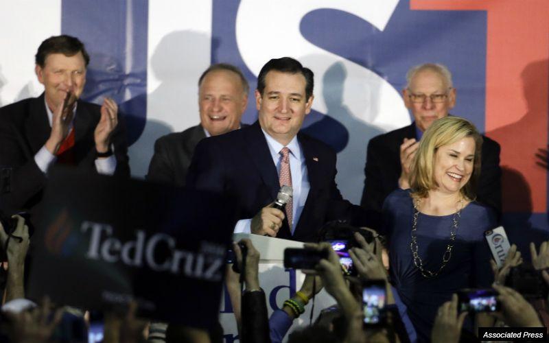 Cruz topples Trump; Rubio surges