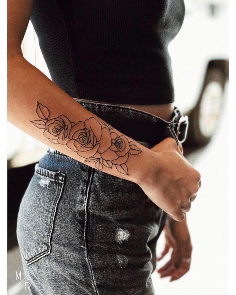 Pinterest MaebelBelle Forearm tattoo women