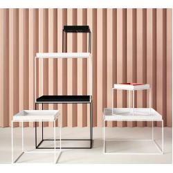 Tray Table Beistelltisch weiß 60x60 Hay#60x60 #beistelltisch #hay #table #tray #weiß