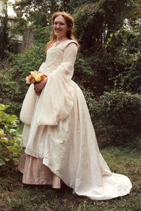 Tudor Wedding Gown Sca Garb