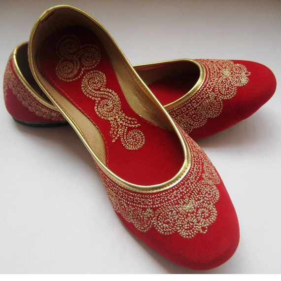 33 50 Wedding Shoes Ballet Flats Wedding Shoes Red Shoes Handmade