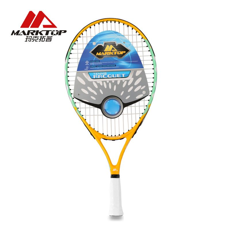Marktop Tennis Rackets Man Carbon Fiber Training Adult Racquet Equipped With Bag Material Tennis Women Aluminum Alloy M3281