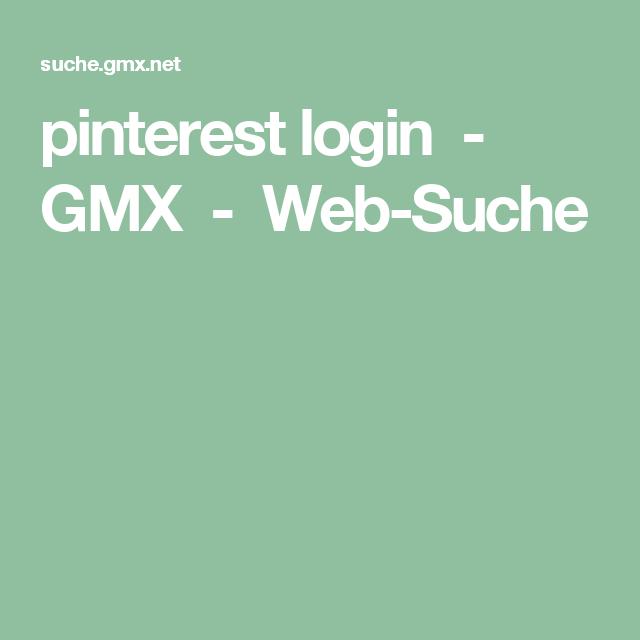 pinterest login - GMX - Web-Suche